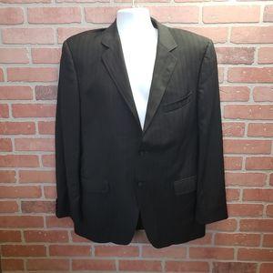 Dolce & Gabanna Men's Black Pinstripe Blazer